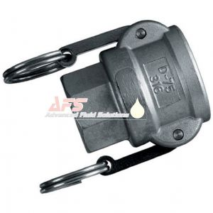 4 Inch Part D Cam & Groove Female Coupler x BSP Female Thread Aluminium (AU) Alloy Camlock Type